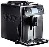 Saeco SM7683/10 Xelsis Kaffeevollautomat 15 Kaffeespezialitäten (Touchscreen, 6 Benutzerprofile), 18/8, Edelstahl/Schwarz