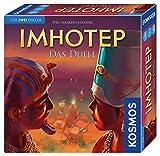 KOSMOS 694272 Imhotep - Das Duell, Königlicher Wettkampf im Alten Ägypten, Brettspiel mit Strategie, Taktik und Interaktion, für 2 Spieler ab 10 Jahren, Gesellschafttspiel