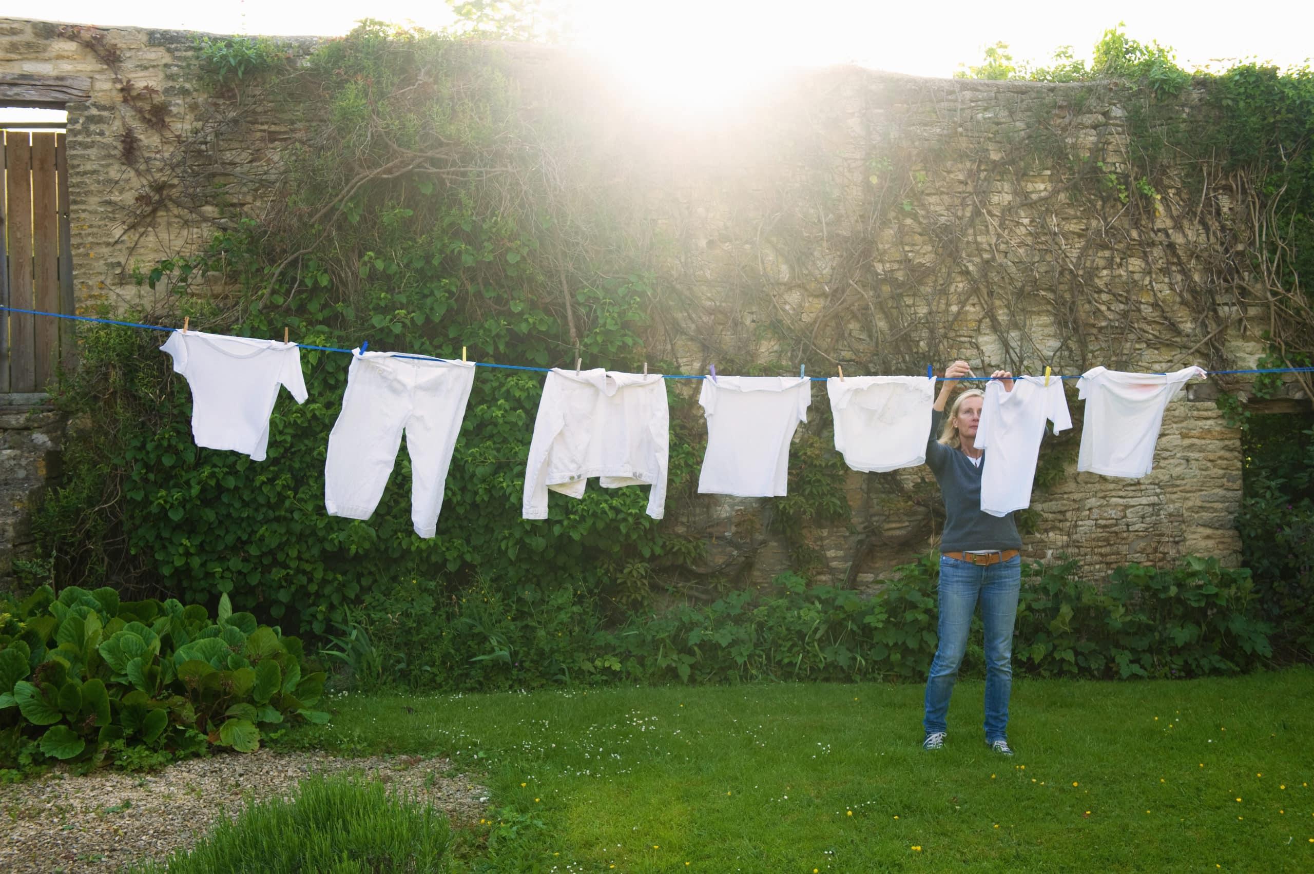 Auch alternative Weichspüler können die Wäsche flauschig machen.