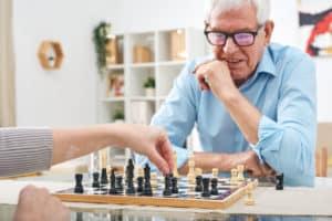 Schach ist wohl das bekannteste Brettspiel für 2 Personen.