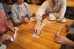 Strategie Brettspiele machen Spaß.
