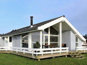 Entspannter Urlaub in einem Ferienhaus in Dänemark.