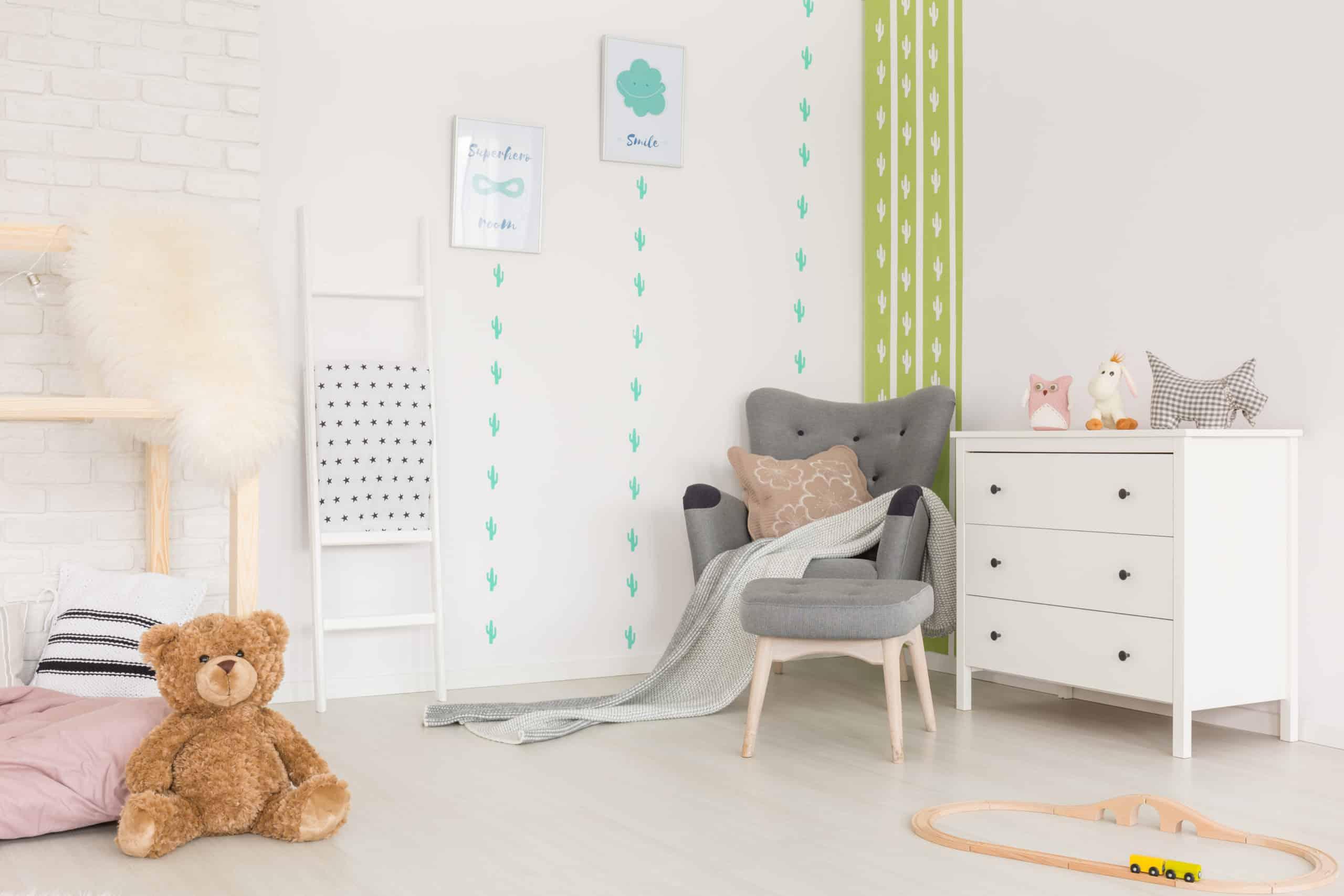 In dieses Zimmer würde eine Indoor Kinderrutsche gut hinein passen.