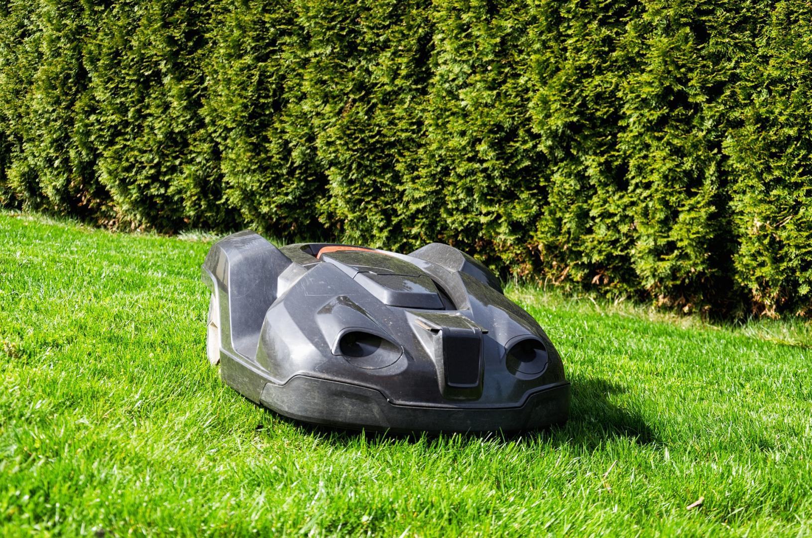 Mit einem Mähroboter hat der Rasen im Garten immer die gewünschte Länge. Pixabay-com © USA-Reiseblogger CCO Public Domain.